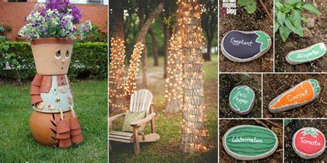 Garden Decoration Diy by 10 Awesome Diy Garden Decoration Ideas Diys To Do