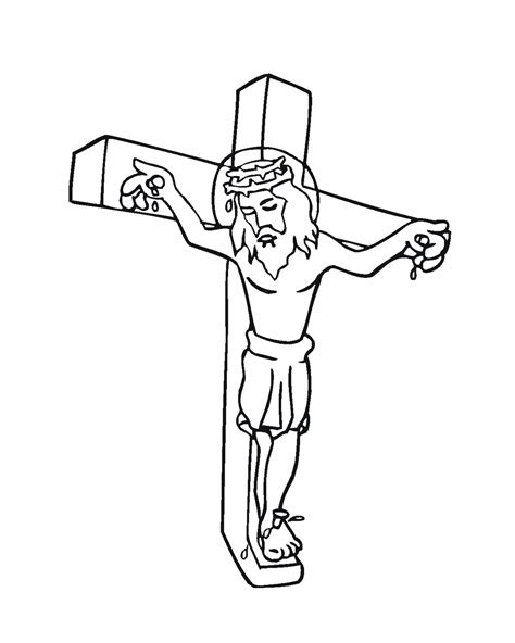 coloring pages jesus on the cross cross coloring pages http hawaiidermatology com jesus