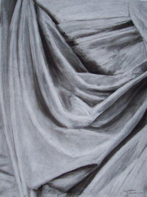 Draped Cloth Drawing