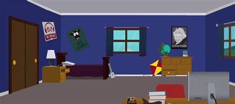 rooms to go southpark kyle s room free to use but credit by martin from sp on deviantart