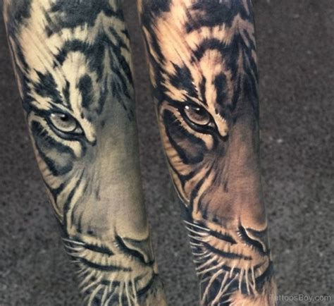 tiger forearm tattoo forearm tiger tattoos www imgkid the image kid has it