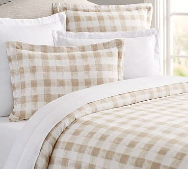 Neutral Bedding by Cotton Neutral Bedding Pottery Barn