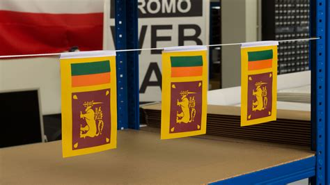 mini sri lanka flag  royal flagscouk