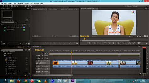 tutorial edit video dengan adobe premiere tutorial video editing adobe premiere pro cc bahasa