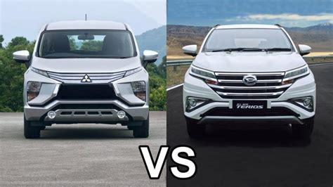 All New Mitsubishi Xpander kala all new daihatsu terios disandingkan dengan
