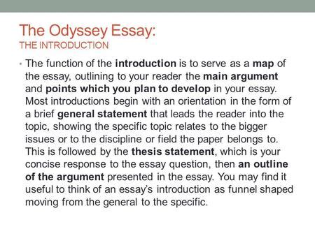 theme essay on the odyssey argumentative essay graphic organizer thesis
