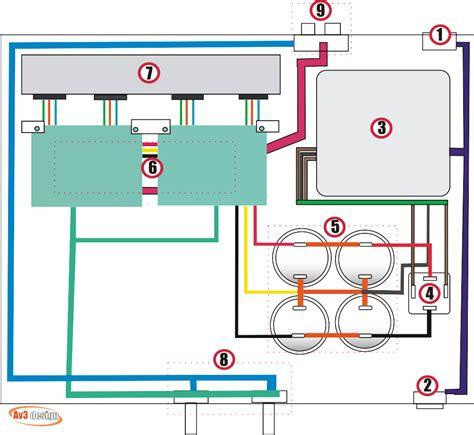 letak transistor sanken component placement design gambar skema rangkaian elektronika