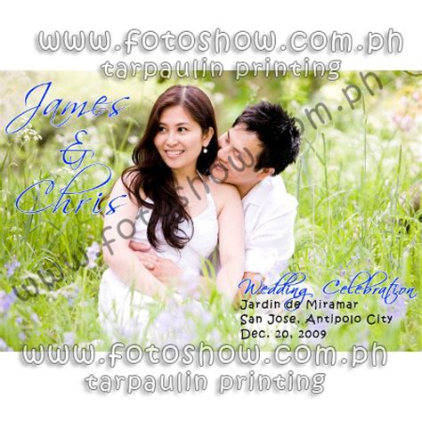 wedding layout tarpaulin affordable tarpaulin printing philippines quality large