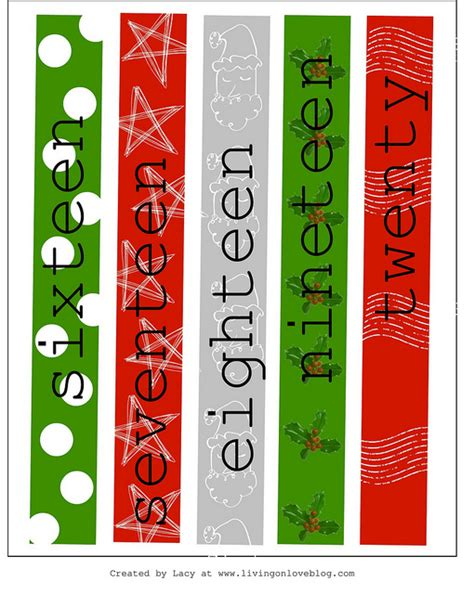 printable advent calendar chain 3 paper chain christmas advent countdowns free printable