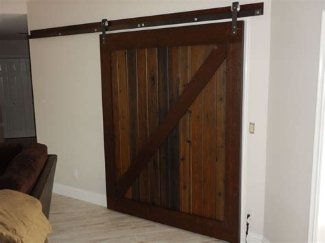 Barn Door Installation Denver - special custom barn door made gallery vintage home and