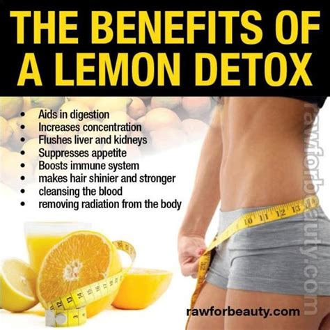 Are Lemons For Detox lemon detox recipe health information