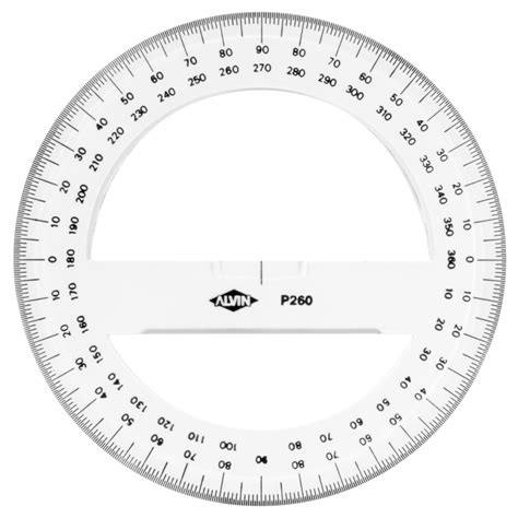 circle protractor template buy circular protractor 360 degree 6 inch