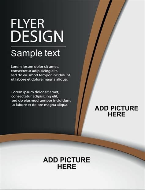 brochure cover layout ideas creative brochure covers vector design