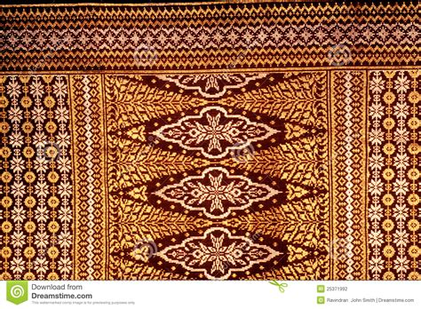Brown Motif Songket Exclusive songket fabric stock photography image 25371992