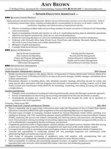 senior executive assistant resume sle resume sles pinterest executive assistant 10 senior administrative assistant resume templates free sle exle format download