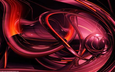 wallpaper 3d red red 3d wallpapers 2560x1600