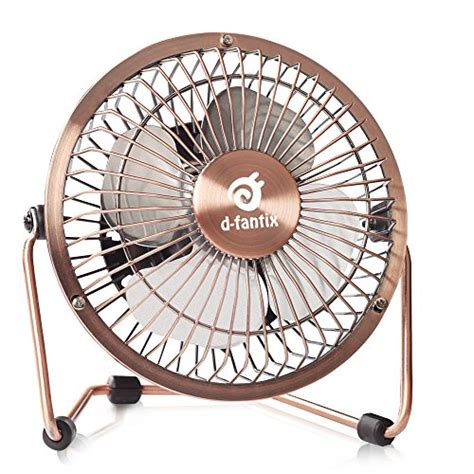 D Fantix Small Usb Desk Fan Quiet 4 Inch Antique