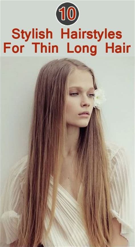 blonde long hair thin 10 stylish hairstyles for long thin hair blonde straight
