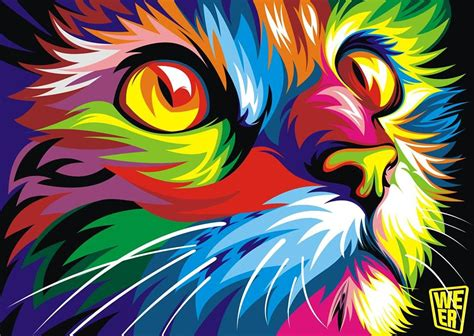 imagenes abstractas vectoriales colorful vector animals by wahyu romdhoni art spire
