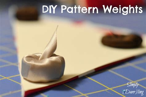 pattern weights diy diy pattern weights simply darr ling