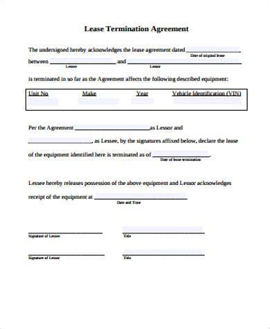 Farm Lease Termination Letter Nebraska sle lease agreement 42 exles in word pdf