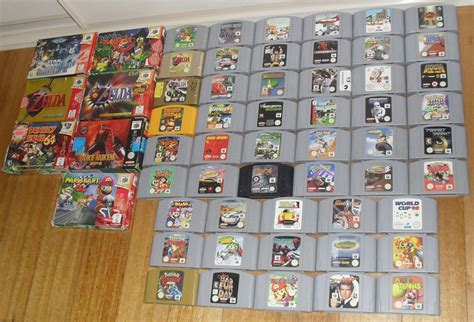 Nintendo 64 Collection 157 In 1 my n64 collection