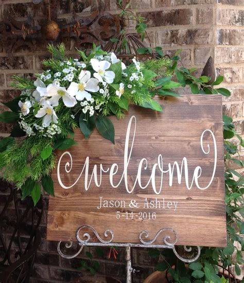 Eheringe Zeichen by Wedding Welcome Sign Wedding Signs Welcome Sign Welcome