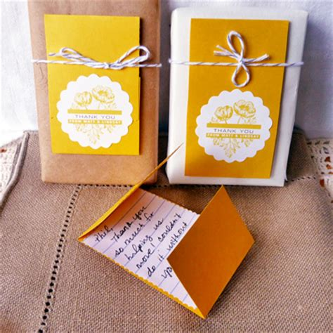 diy thank you gifts personalized diy thank you cards evermine
