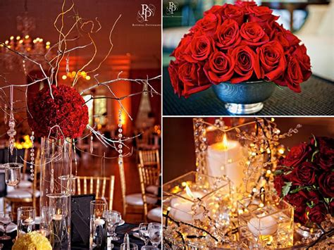 Maskara Rivera Chic Enchanted Wedding Reception Decor Roses