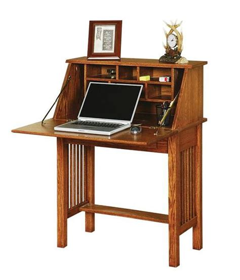Unfinished Furniture Hutch Secretary Desk Mission Secretary Desk