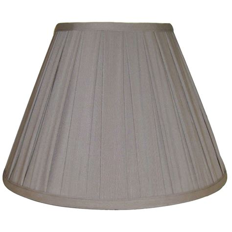 empire pleated l shades essential home l shade beige pleated empire shop your