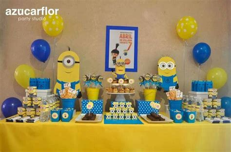 birthday themes minions minions party theme minion party pinterest