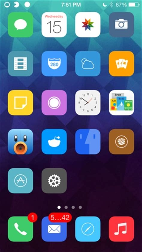themes not changing winterboard kiki winterboard theme brings circular icons to ios 7