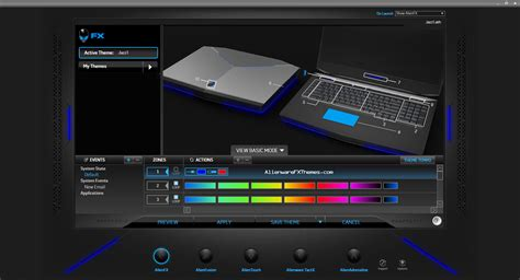alienware keyboard themes download ambience by jazz alienware 18 fx theme alienware fx themes