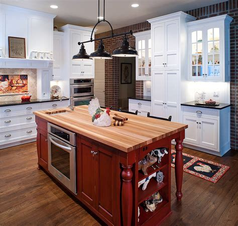country style kitchen island country style kitchen with red island kitchen islands