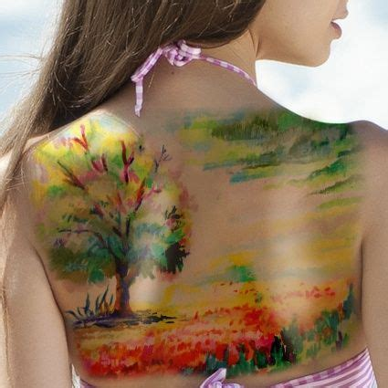 watercolor tattoos fort worth 12 beautiful watercolor tattoos worth getting landscape