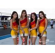 Lovely Grid Girls At Buriram