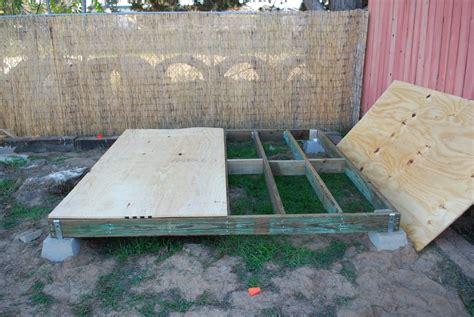 shed foundation mad geeks workbench