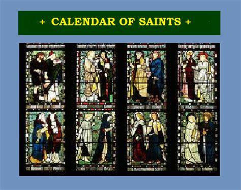 Calendar Of Saints St Paul Church Runnymede