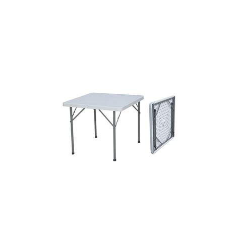 36 X 96 Plastic Folding Table by Kubic Square Folding Table Plastic 34 Quot White