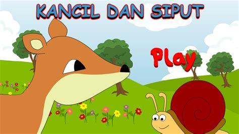 kancil  siput cerita dongeng anak indonesia youtube