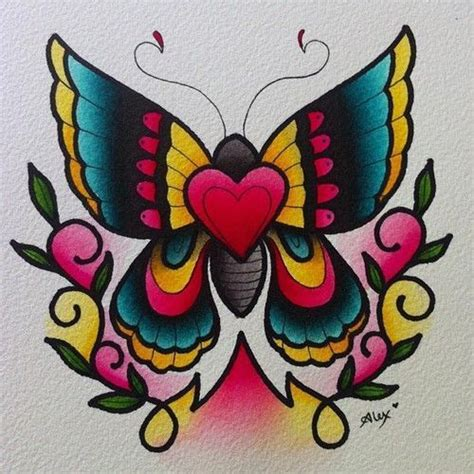 butterfly tattoo neo traditional 28 best tattoo inspiration images on pinterest butterfly