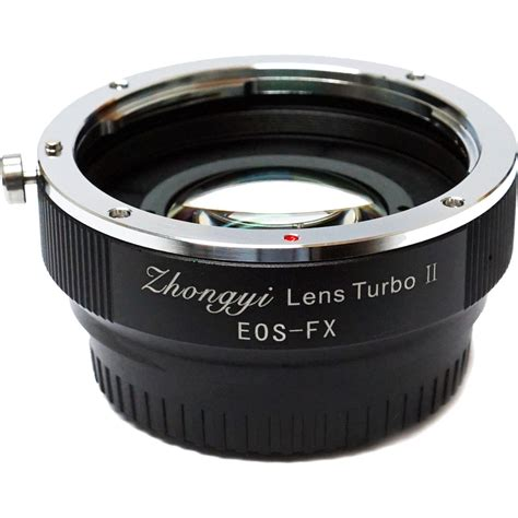converter canon to fuji mitakon zhongyi lens turbo adapter v2 for full frame