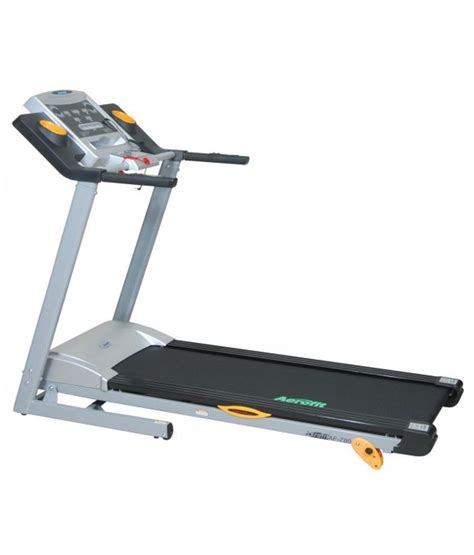 aerofit 1 75 hp motorized treadmill with digital concept