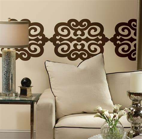 temporary wall stickers scroll removable decorative wall decals wall2wall