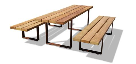 tables and benches pic bull benches and table metalco