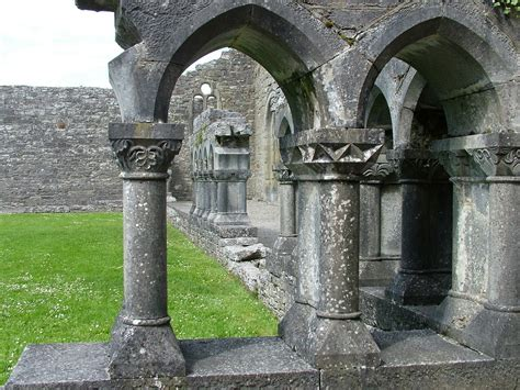 Our Visit To Cong Abbey Ruins In Ireland