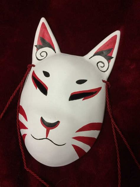 How To Make A Paper Fox Mask - how to make a kitsune mask amino