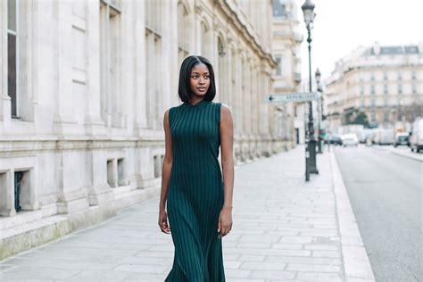 sira kante wore  paris fashion week hm gb