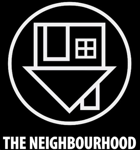 Home Decor Black And White by Quot The Neighbourhood Logo Quot Posters By Blackmeetswhite